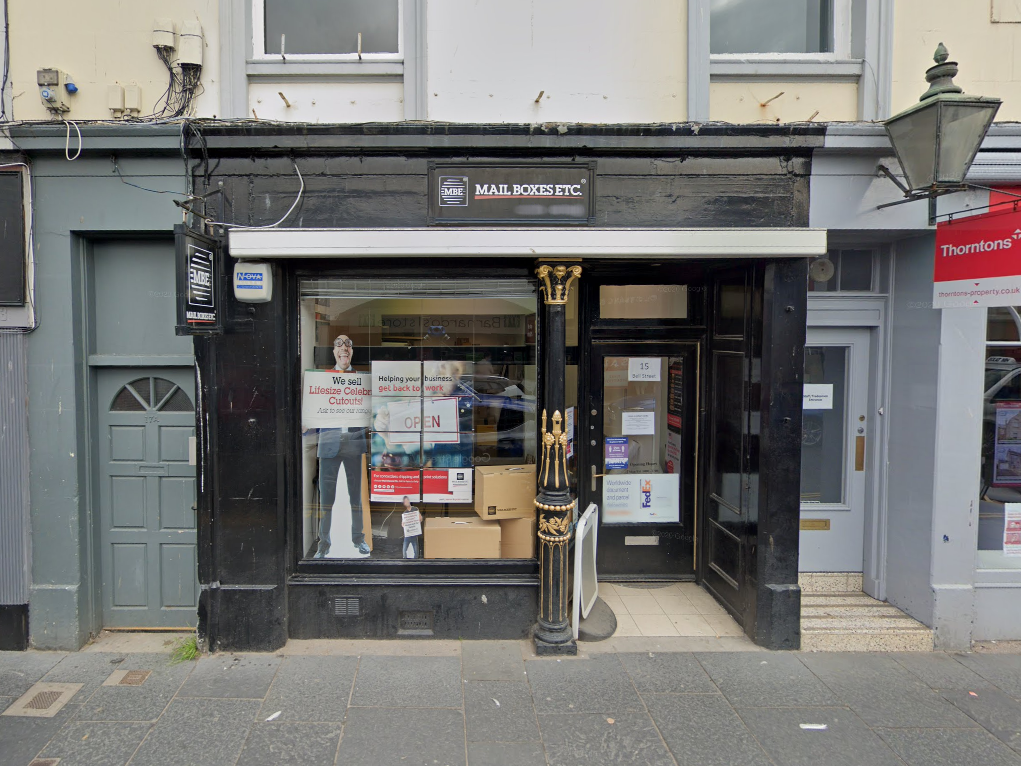 Miramex LP operated via a postal address at a Mail Boxes Etc in St Andrews, Scotland. Picture: Google Street View